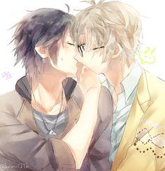 「ツキウタ。 ログ #2」/「(メ・ロ・)」の漫画 [pixiv] Tsukiuta The Animation, Perfect Couple, Anime Life, Fujoshi, Anime Couples, Anime Art, Kawaii, Fan Art, Manga