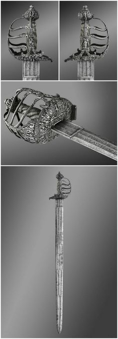 Broadsword of Oliver Cromwell, c. 1650: