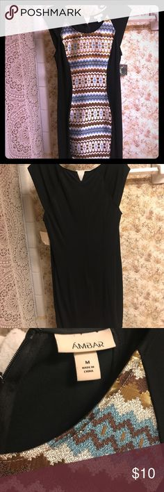 Cute fitted dress .. Funky black dress Dresses Midi