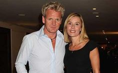 Gordon Ramsey and his wife Tana