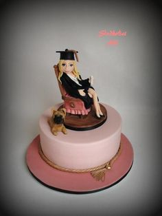 Graduation cake - Cake by Alll - For all your cake decorating supplies, please visit craftcompany.co.uk