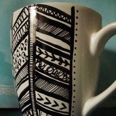 sharpie + mug