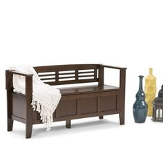 Shop For WYNDENHALL Chandler Entryway Storage Bench. Get Free Shipping At  Overstock.com  . Furniture OutletOnline ...
