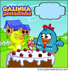Kit Festa Infantil – Galinha Pintadinha