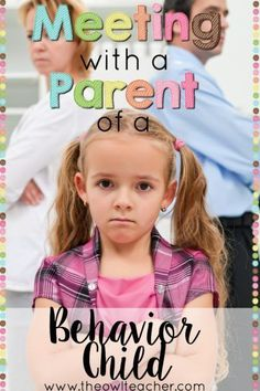 Do you need to meet with a parent over a child with behavior issues in your classroom? Check out this post to give you some great ideas to help you manage that meeting! #stepstoowningadaycare