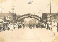 Troops welcomed return to Oakville 1919