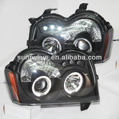 1.Lamp Type: Projector Lens   2.Voltage :12V  3.Auto Head Light  4.Can be used in Jeep Grand Cherokee 3 (wk)  5.LED Head Lamp