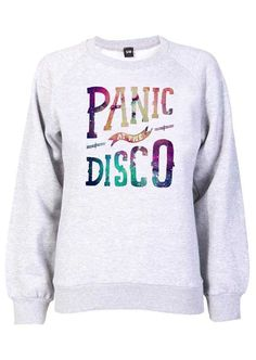 About Panic Disco Galaxy White Sweatshirt sweatshirt is Made To Order, we print the sweatshirt one by one so we can control the quality. Coque Iphone 5s, Band Merch, Band Shirts, Panic! At The Disco, Direct To Garment Printer, Cool Outfits, Band Outfits, Disco Outfits, Artsy Outfits