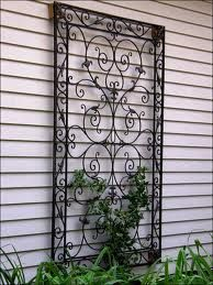 wrought iron accent grapevine