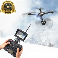 Motor RC Quadcopter XK X252 Brushless 720P HD Camera LCD Monitor 5.8G FPV Drone