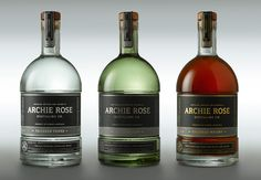 Archie Rose Tailored Spirits on Packaging of the World - Creative Package Design Gallery