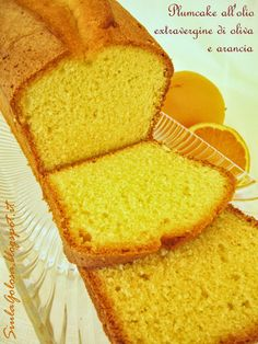 Siula Golosa: Plumcake all'olio extravergine di oliva e arancia