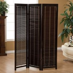 Tranquility Wooden Shutter Room Divider