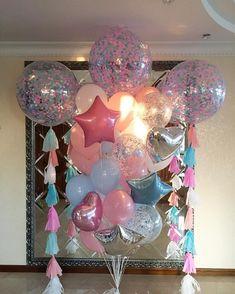 first birthday party themes First Birthday Party Themes, Unicorn Birthday Parties, Unicorn Party, Baby Birthday, Diy Party Decorations, Balloon Decorations, Birthday Decorations, Baby Shower Decorations, Deco Ballon