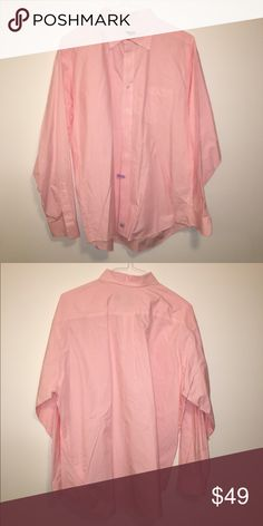 Vineyard Vines Shirt Pink & white size XL vineyard vines buttondown - has been dry cleaned, like new! Vineyard Vines Shirts Casual Button Down Shirts