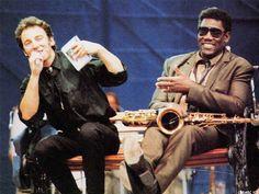 Bruce Springsteen and Clarence Clemons Photo Gallery
