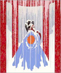 Erte - Love's Captive, 1921