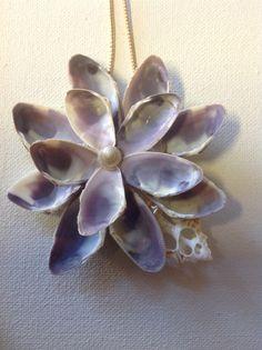 Seashell Flower Ornament