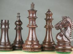 Triple Weighted Staunton Club Chess Game Set Pieces 4Q. http://www.chessbazaar.com/chess-pieces/wooden-chess-pieces/triple-weighted-staunton-club-chess-game-set-pieces-4q.html