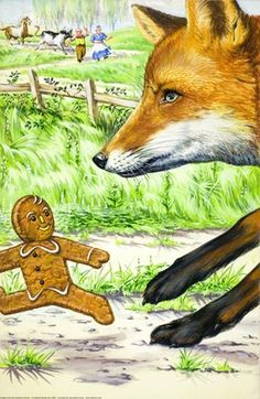 The gingerbread boy and fox - The Gingerbread Boy - Robert Lumley - Ladybird Book