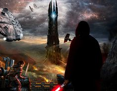 """Check out new work on my @Behance portfolio: """"Lord Of The Star Wars"""" http://be.net/gallery/32588783/Lord-Of-The-Star-Wars"""