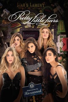 Pretty Little Liars Poster 7B Secrets And Lies, Pretty Little Liars, Pretty Little Loars, Pretty Litte Liars
