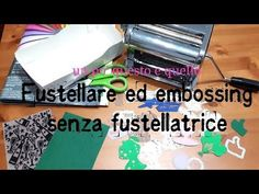 Alternativa alla fustellatrice :-) - YouTube