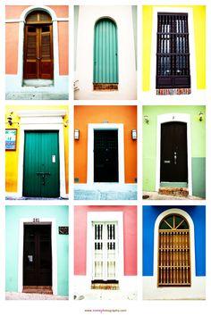 Las Puertas de Viejo San Juan [San Juan, Puerto Rico] #livehere