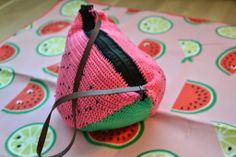 Satunnaisesti puikoilla: vesimelonilaukun ohje