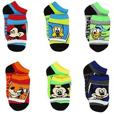 Mickey Mouse Boys 6 pk Ankle Socks #KidsSocks #CharacterSocks #FunSocks #GiftsForKids #KidsFashion #Shopping #FunFashion #FunStartsHere #YTB #kneehigh #ankle #noshow #stockingstuffer #costume Mickey Mouse Clubhouse Disney Mickey Minnie Donald Daisy Goofy Roadster Racers #mickeymouseclubhouse #mickeymouse #minniemouse #donaldduck #daisyduck #goofy #mickeyandtheroadsterracers #roadster #racers #pitcrew #racing #hotrod #racecar #race #disney