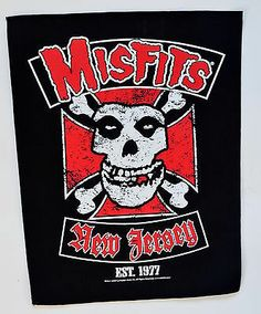 The Misfits New Jersey Back Patch  http://www.ebay.co.uk/itm/Misfits-New-Jersey-Back-Patch-Punk-rock-heavy-metal-leather-denim-jacket-/281215412422?pt=UK_Women_s_Vintage_Clothing&hash=item4179bea8c6