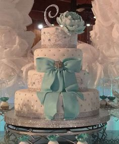 Tiffany Quinceañera Party Ideas | Photo 1 of 24 | Catch My Party