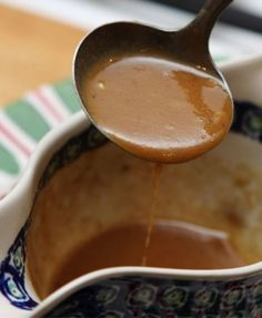 Quick onion gravy  This rich, savoury sauce is a great companion for meat dishes