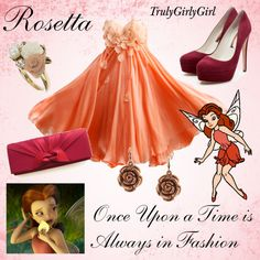 """Disney Style: Rosetta"" by trulygirlygirl on Polyvore"