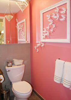 Cute girls bathroom idea traditional home designer kelley for Cute bathroom ideas for apartments