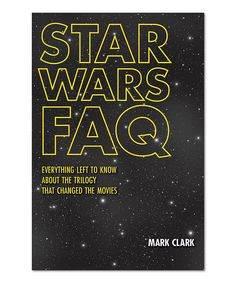 Take a look at this Star Wars FAQ Paperback today!