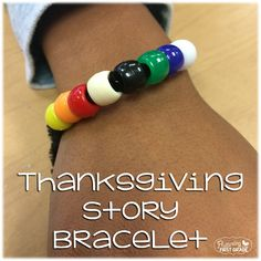 Fluttering Through First Grade: The Story of Thanksgiving Bracelet