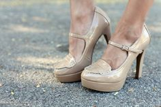 Every woman needs a pair of nude heels.  #shoes #watchwigs www.youtube.com/wigs
