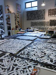 """Studio of Rostarr – """"IKONOCLYSM""""  #art #studio"""