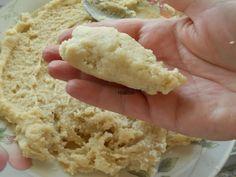 Marzipan cooked - Mazapan cocido  http://decoraciondemabel.blogspot.com.es/2012/10/mazapan-cocido-casero.html