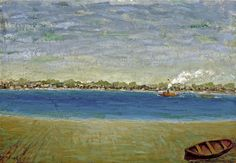 Arnold Friedman, Untitled (Tugboat View) (c. 1938), via Artsy.net