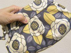 BRIDESMAIDS CLUTCH Janbag wristlet handmade gift by bagonebagshop,