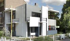 Rietveld Schröder House (Utrecht - Netherlands) designed in 1924.Building Rietveld on designs and #De Stijl principles. #architecture