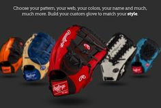 fa722d1b1d0 Build your custom Rawlings glove to match your style at JustBallGloves. We  offer free shipping