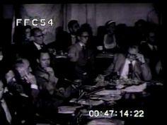 Joseph Welch v. Senator Joseph McCarthy in the McCarthy hearings