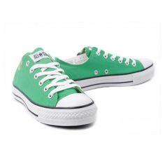 3d972b0b572161 Converse Shoes Green Chuck Taylor All Star Classic Low