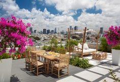 exterior - contemporary - patio - other metros - Elad Gonen & Zeev Beech