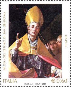 2009 - Museo del tesoro di san Gennaro di Napoli  - Ritratto di san Gennaro, opera di Francesco Solimena