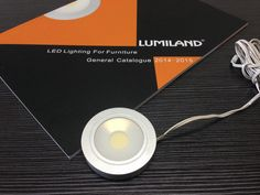 LED COB Cabinet Light/ Surface Mounted and Recess Mounted both Available. Material:Aluminium,Size:60*H12.5mm
