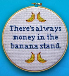 There's Always Money in the Banana Stand Arrested door BananyaStand, $28,00